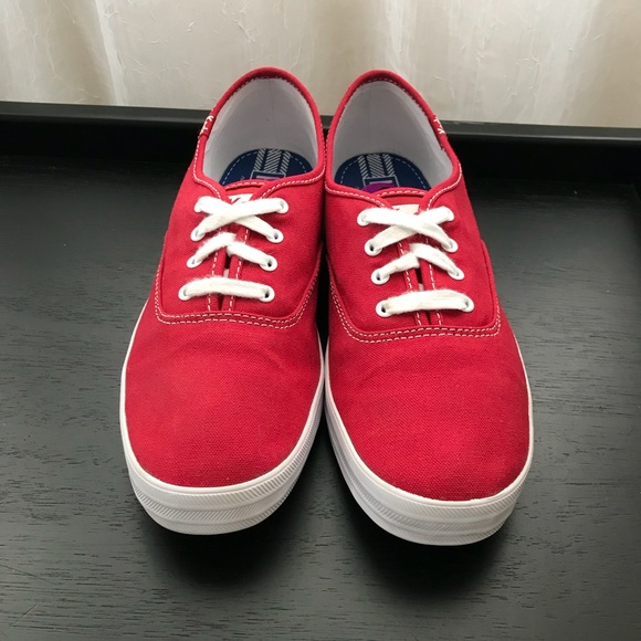 70dfb770b1f Keds Shoes - KEDS Red Champion Oxford Canvas Sneakers